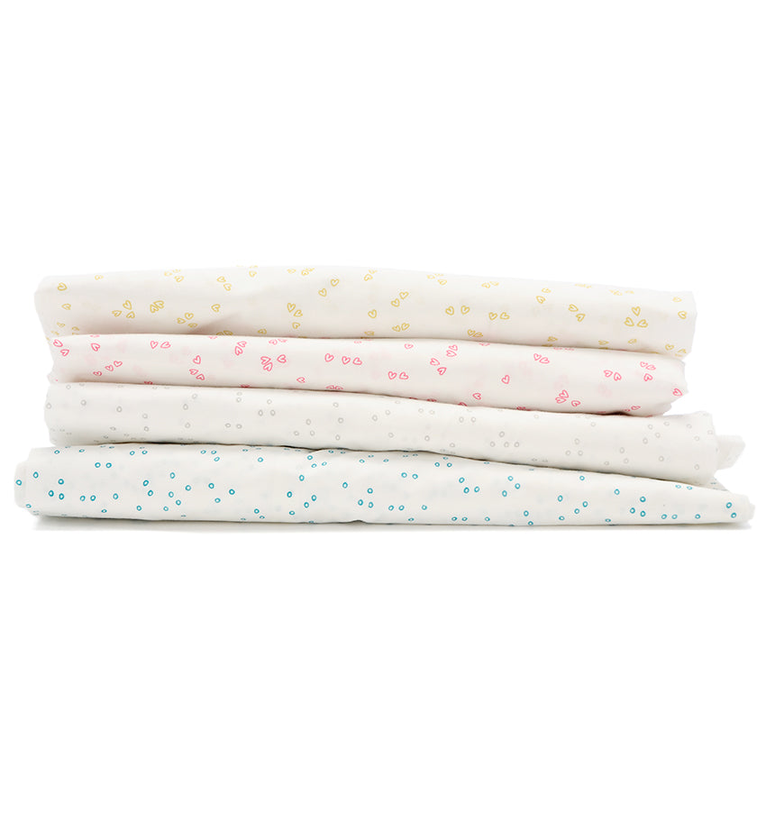 Fitted Sheet - Pebble Fern (Crib)