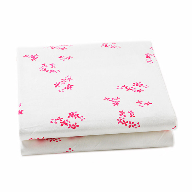 Auggie | Auggie Fitted Sheet - Pretty with Pink (Crib)