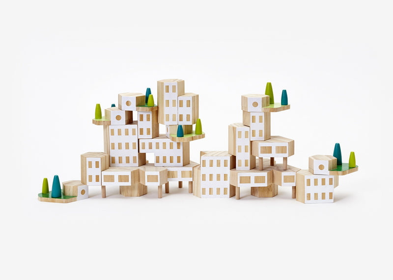 Areaware Blockitecture - Garden City Toys | kids at home
