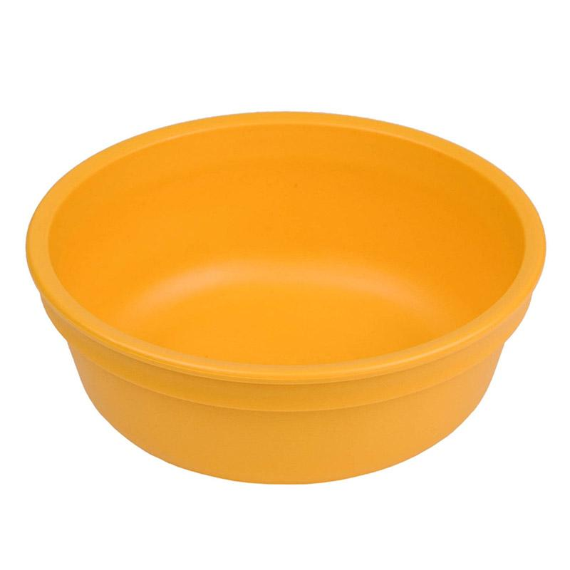 Re-Play Recycled Plastic Bowl - Sunny Orange | kids at home