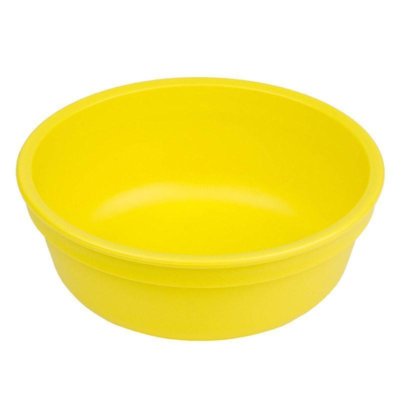 Re-Play Recycled Plastic Bowl - Yellow | kids at home