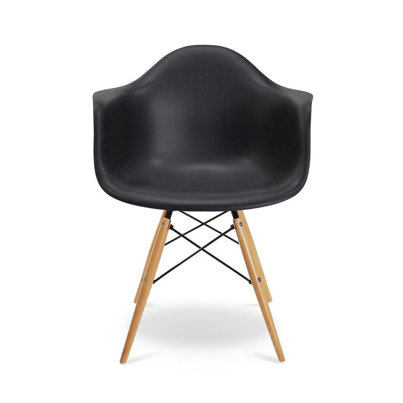 Plata Import Kids Bucket Chair - Black Chairs | kids at home