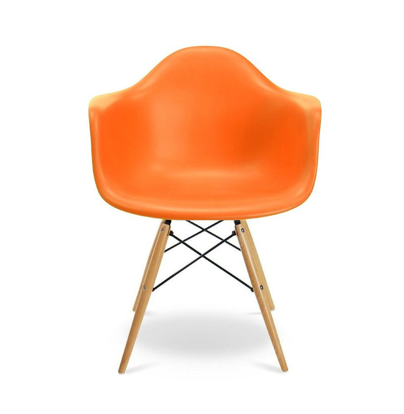 Plata Import Kids Bucket Chair - Orange Chairs | kids at home