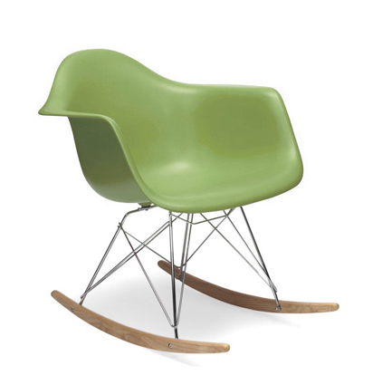 Plata Import Kids Rocker - Green Chairs | kids at home