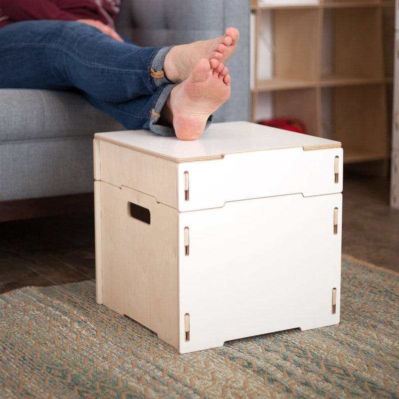 Sprout-Kids | Square Storage Ottoman