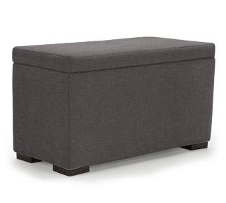 Monte Design Storage Bench - Premium Fabric Ottoman | kids at home