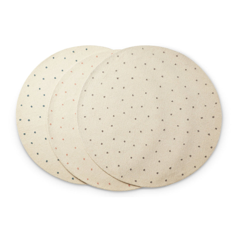 Pehr | Light Grey Dotty Rug