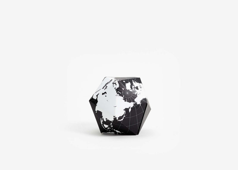 Dynamaxion Folding Globe - Black/White