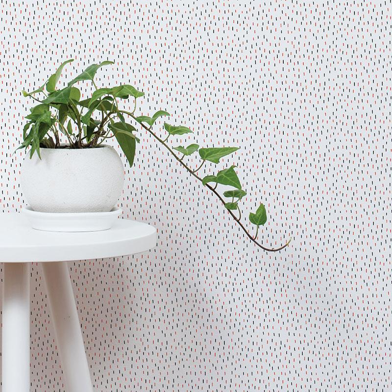 ADzif Elise Gravel Wall Paper - Cactus Pattern wallpaper | kids at home
