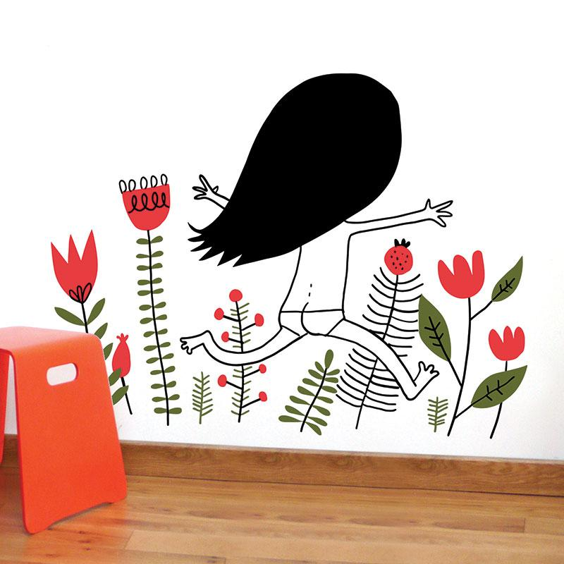 ADzif Elise Gravel Wall Decal - Holidays | kids at home
