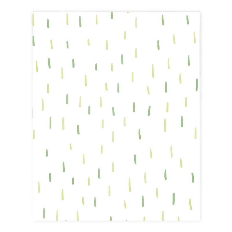 Elise Gravel Wall Paper - Locusts Pattern