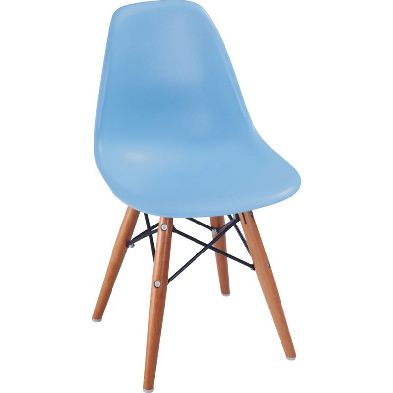 Plata Import Kids Eiffel Chair - Sky Blue Chairs | kids at home