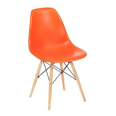 Plata Import Kids Eiffel Chair - Orange Chairs | kids at home