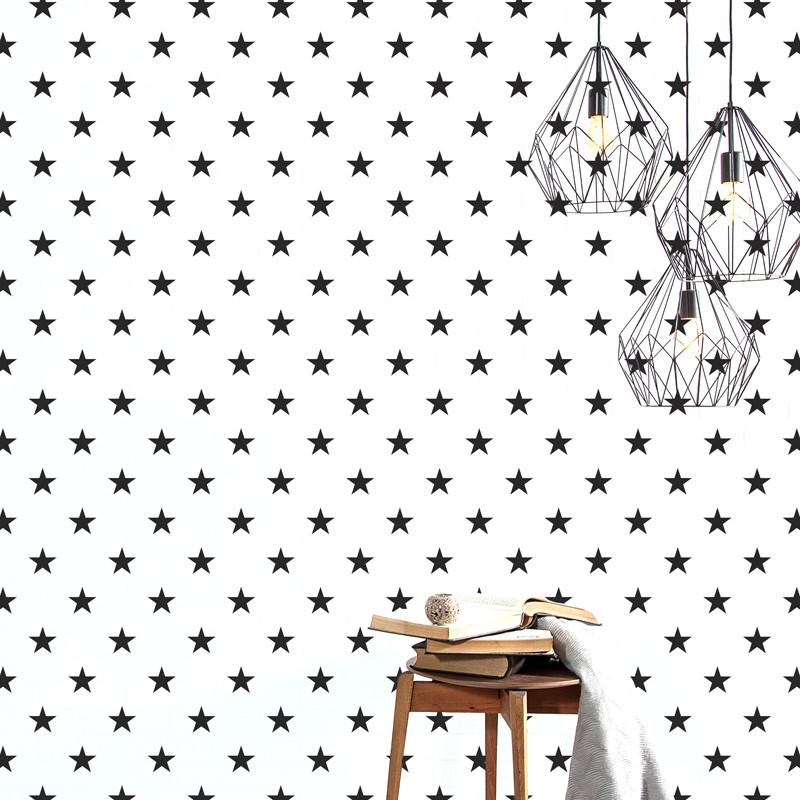ADzif Lucky Star - Black Wall Decal | kids at home