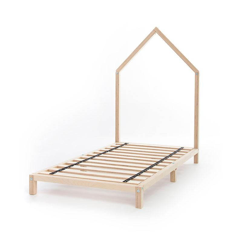 Gautier Studio Tutti Transitional Bed (With Base) - Natural Birch Play Houses | kids at home