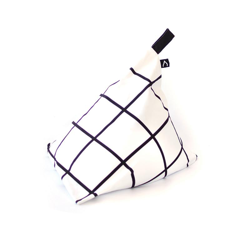 Gautier Studio Fiesta Beanbag Black & White | kids at home