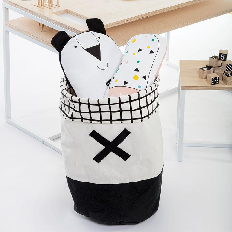 Gautier Studio | Olé Toy Hamper - Black