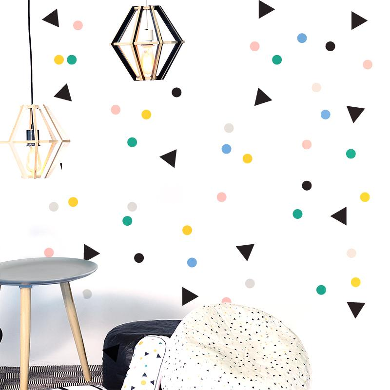 Gautier Studio Decorative Wall Decals Confetti | kids at home