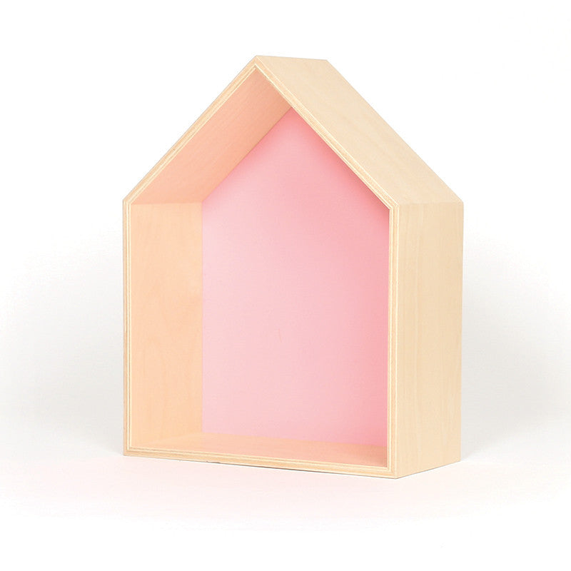 Gautier Studio House Shelf - Pink Shelving | kids at home