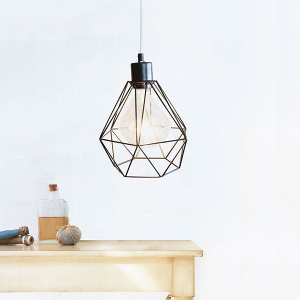 PLOG-it | Geometric Lampshade - Black