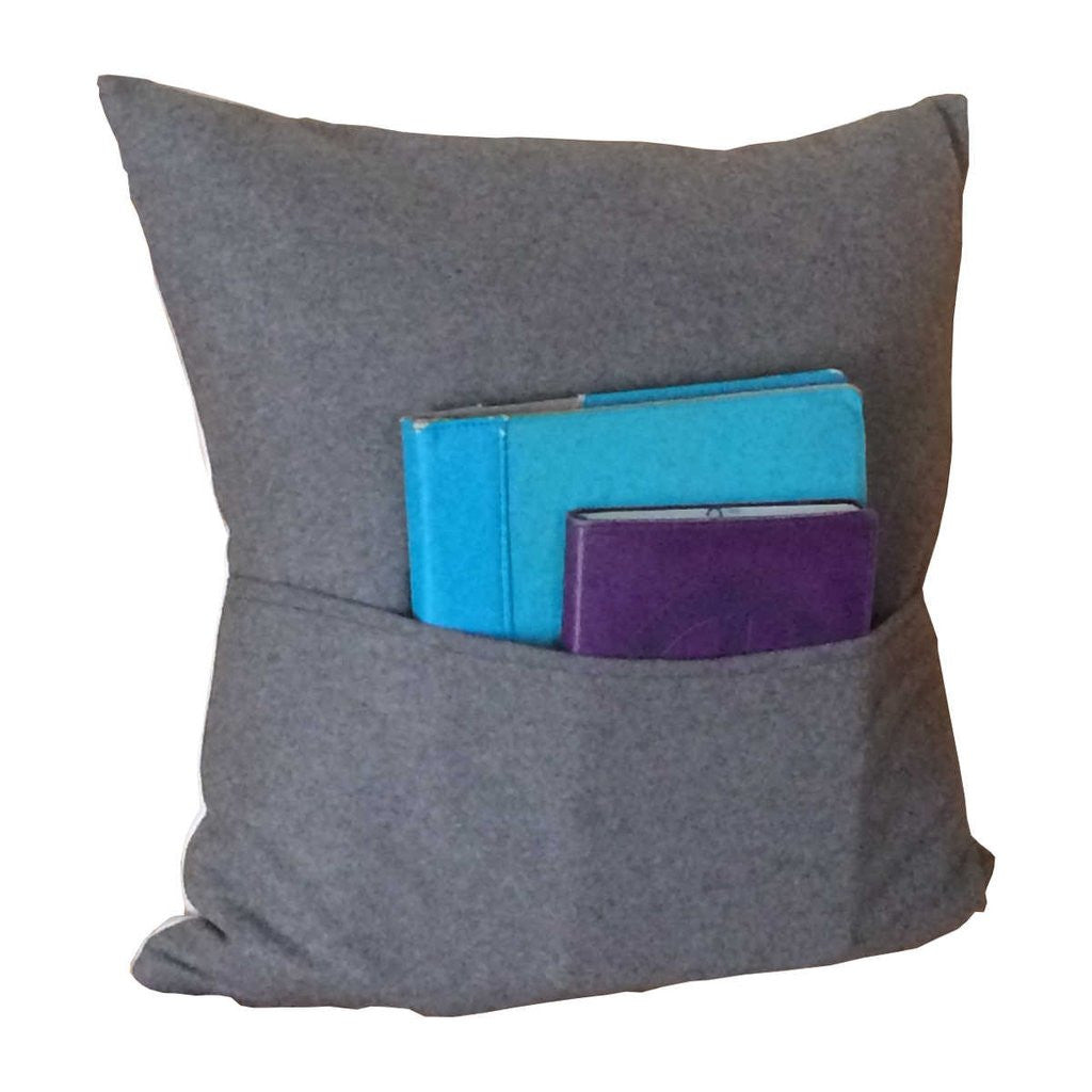 Moose Pillow Cotton Twill