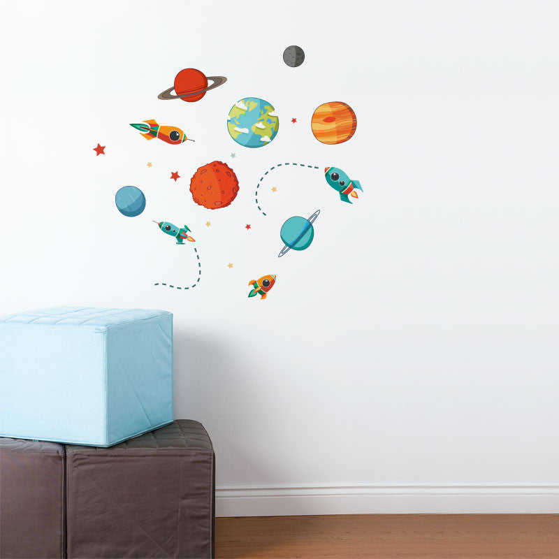 ADzif Wall Decal - Planets Galore | kids at home