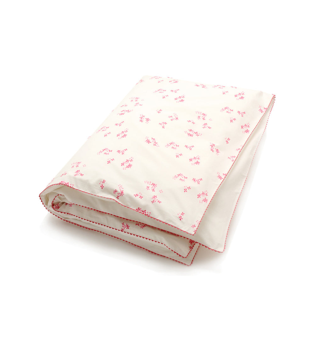 Auggie | Auggie Duvet Cover - Pretty with Pink (Twin)