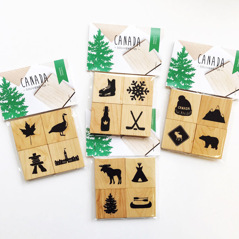 Canada - Moose Magnets