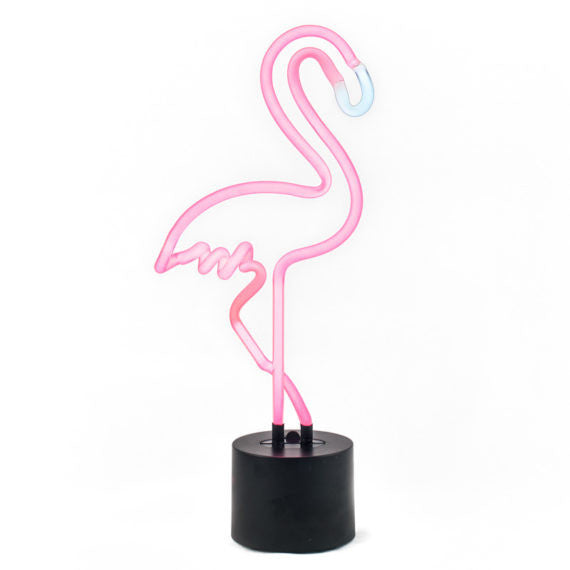 Amped and Co Neon Light - Flamingo Lighting | kids at home