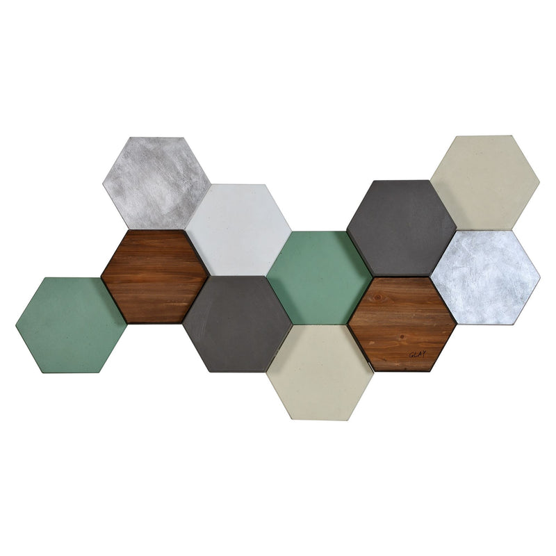 Renwil Hexa Pastel Wall Decor | kids at home