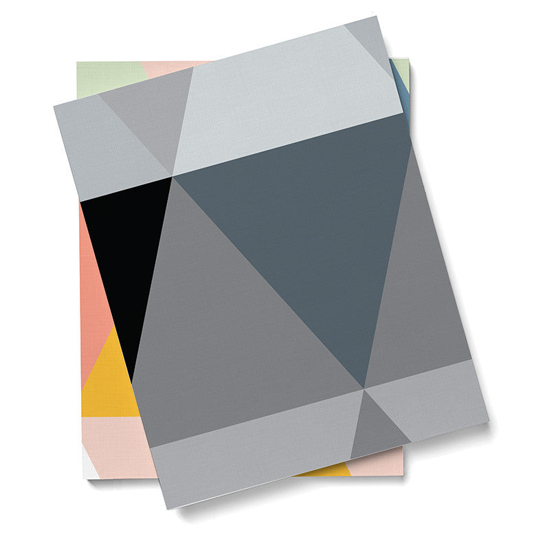 Wallpaper - Triangles - Grey