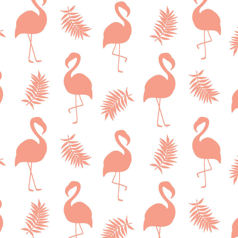 ADzif Wallpaper - Flamingo - Pink Wall Decal | kids at home