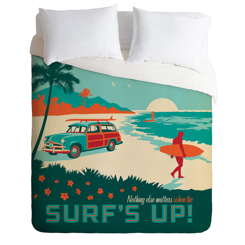 Deny Design Surf's Up Duvet Cover Bedding | kids at home
