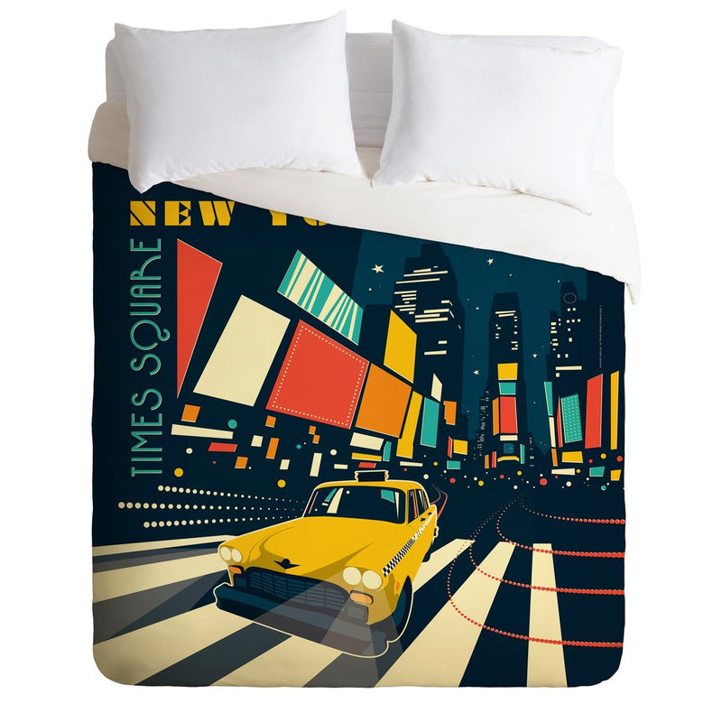 Deny Design | Deny Design NYC Times Square Duvet Cover - SALE 40% OFF