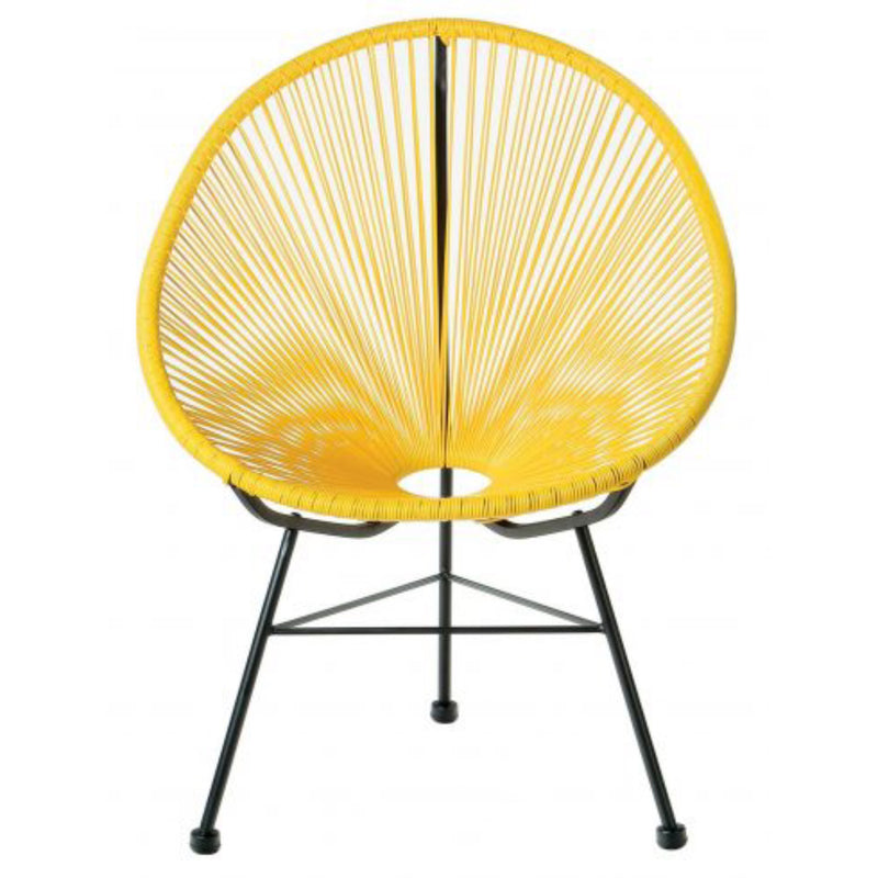 Plata Import Kids Acapulco Chair - Yellow Chairs | kids at home