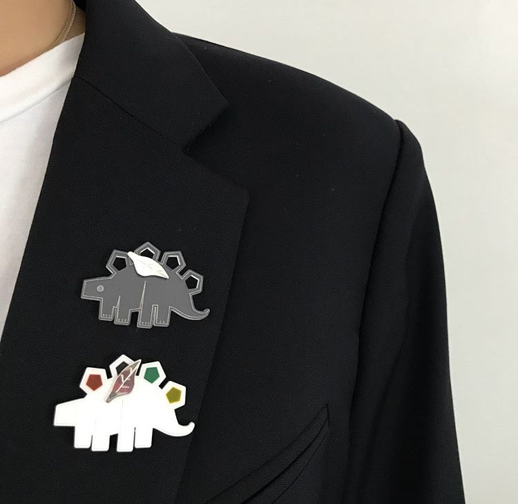 Little Dinosaur Pin