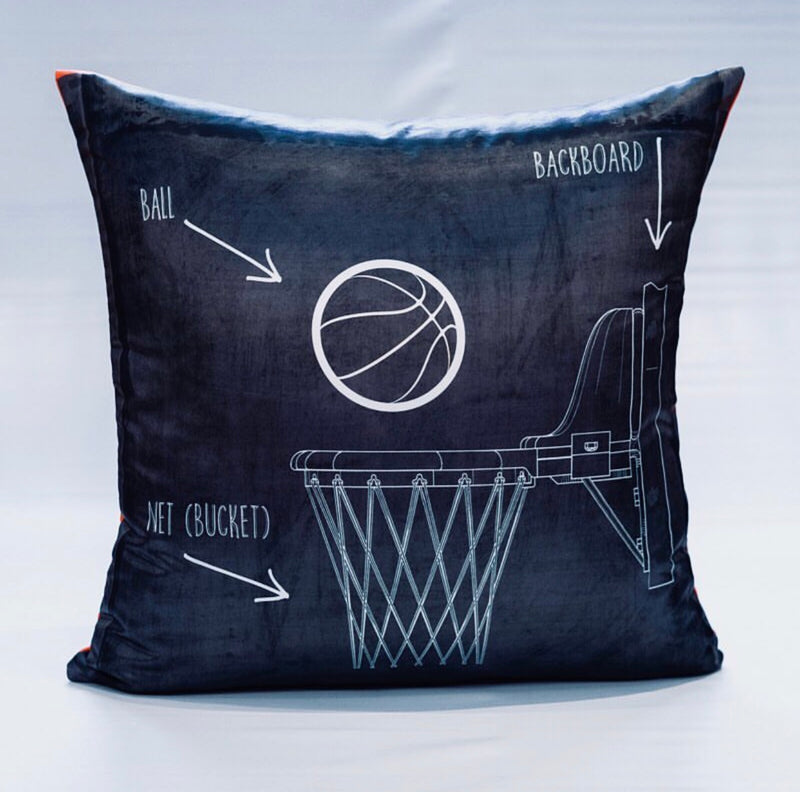 WE THE NORTH Cushion - Basketball