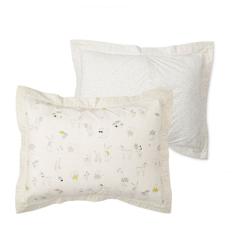 Magical Forest / Multi Speck Standard Pillow Sham