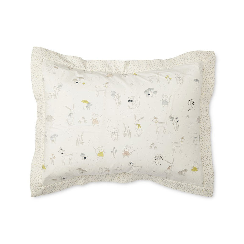 Pehr Magical Forest / Multi Speck Standard Pillow Sham Pillows | kids at home