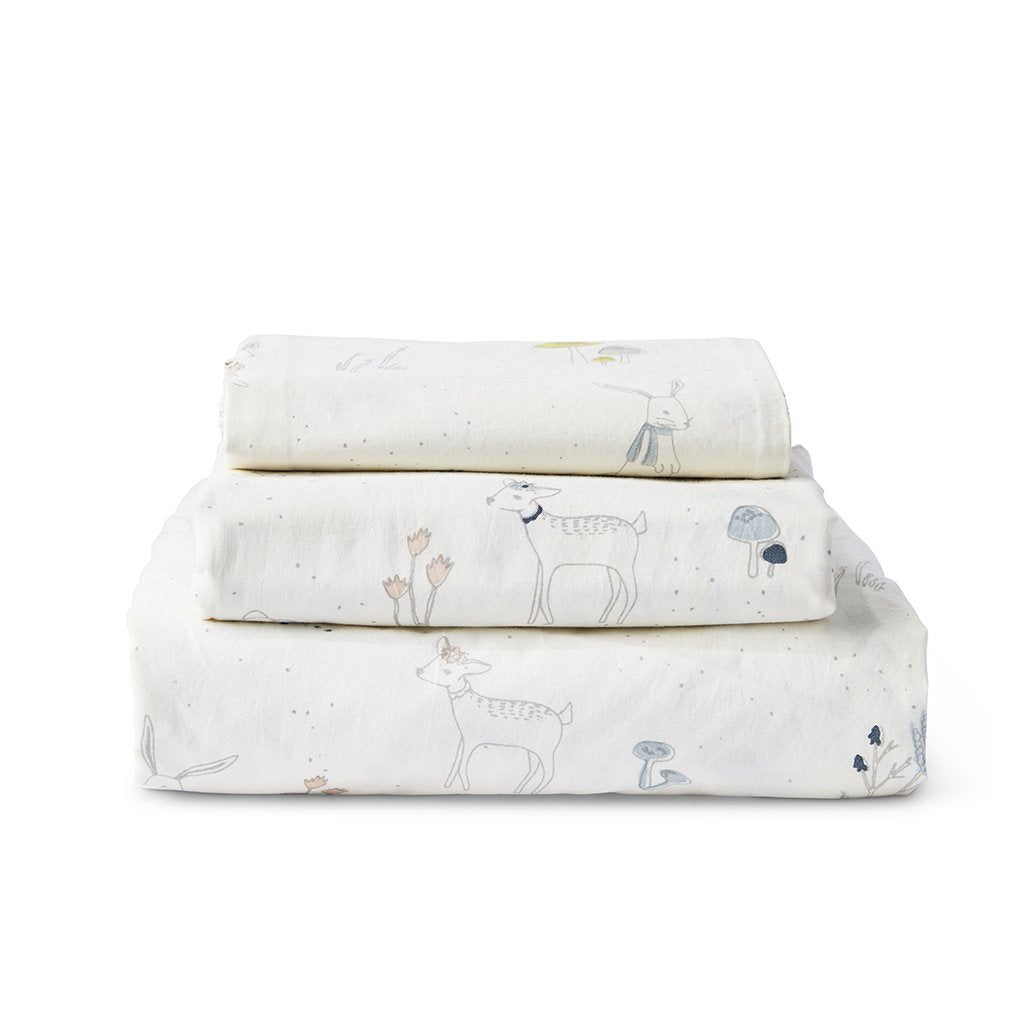 Pehr | Magical Forest Twin Sheet Set