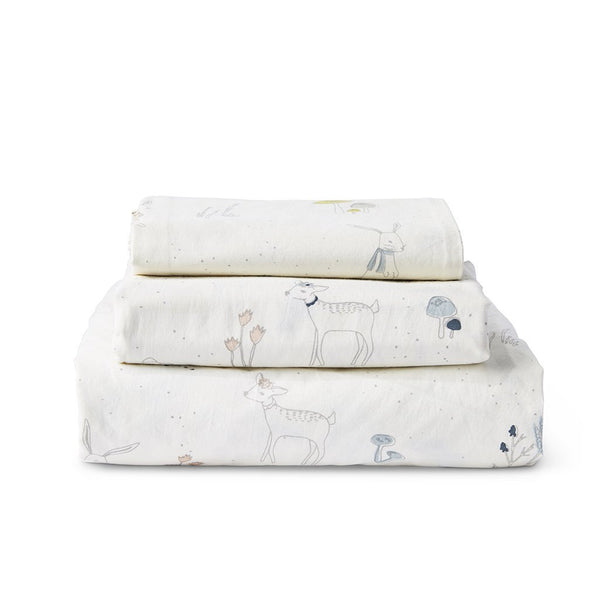 Pehr - Magical Forest Twin Sheet Set