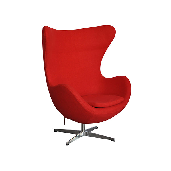 Plata Import Mini Egg Chair - Red Chairs | kids at home