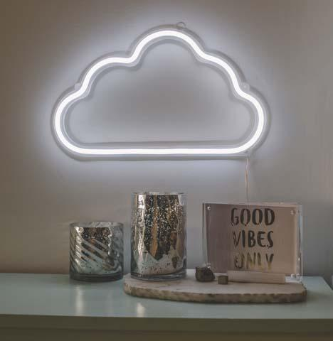LED Neon Wall Light - Cloud