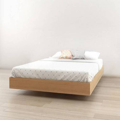 Norway Full Size Platform Bed - Natural Maple