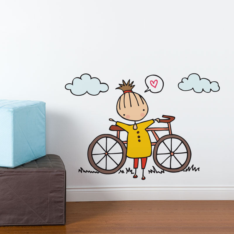 ADzif Wall Decal - Cara Carmina - A Fine Day for a Ride | kids at home