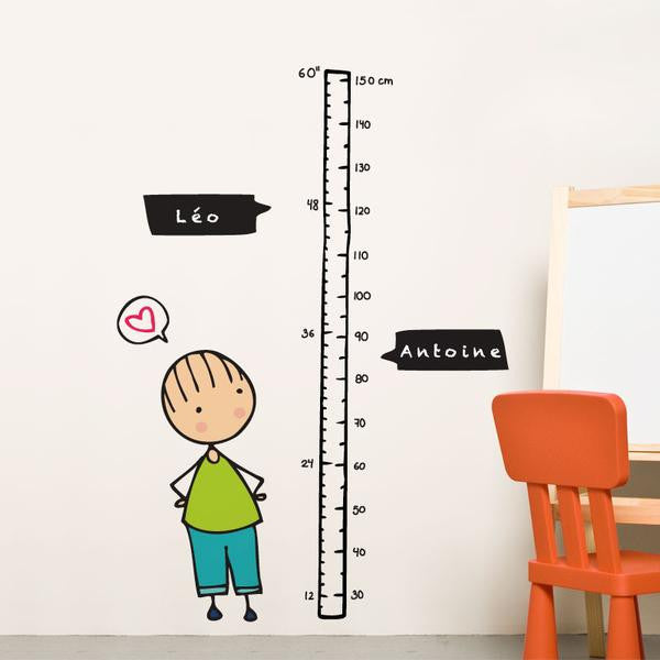 ADzif Watch me Grow! (Boy) Wall Decal | kids at home