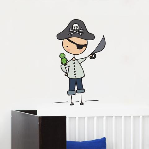 ADzif Wall Decal - Cara Carmina - Ahoy, Mateys! | kids at home