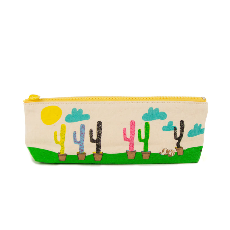 Fluf Pencil Case - Cactus | kids at home