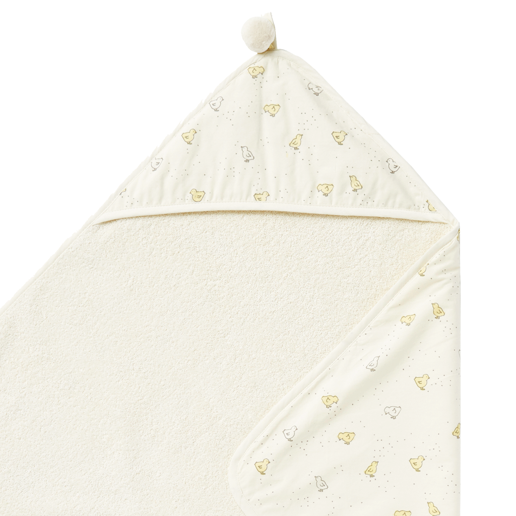 Pehr | Baby Chick Hooded Towel