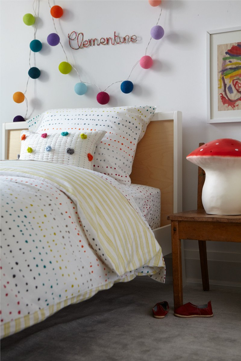 Painted Dots Sheet Set - Twin